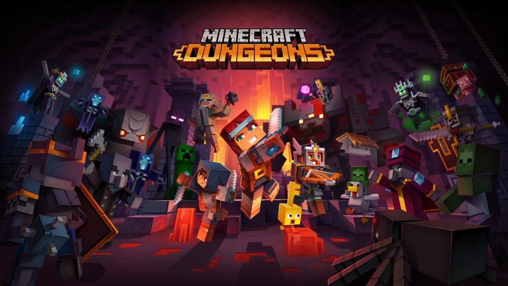 Minecraft Dungeons обзавелась синематиком.