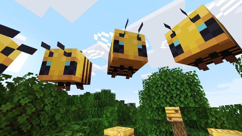Пчёлы добавят новые механики в Minecraft.