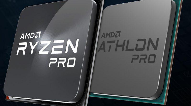 AMD представила Ryzen 9 Pro 3900