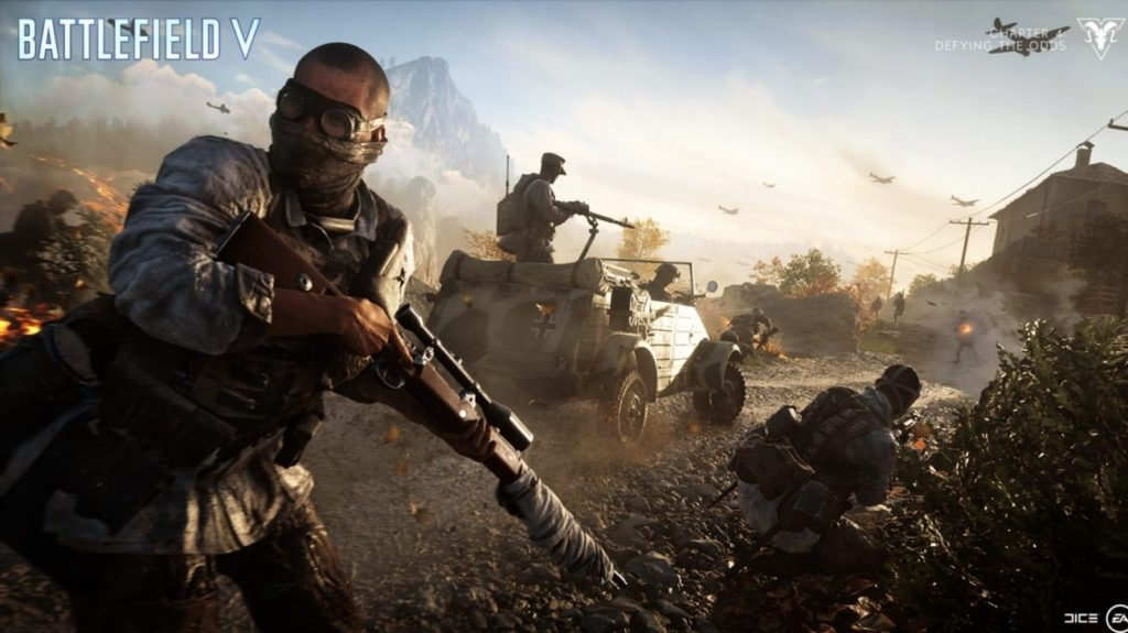 Октябрьские бесплатные выходные в Battlefield V.