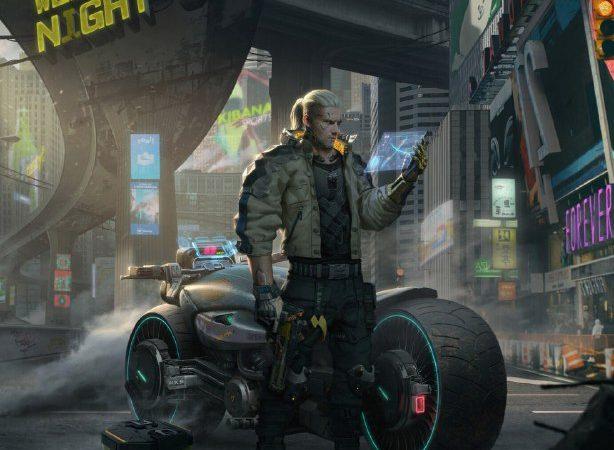 Геральт из Ривии в мире Cyberpunk 2077 или история о том, как создать один из самых потрясающих концептов.