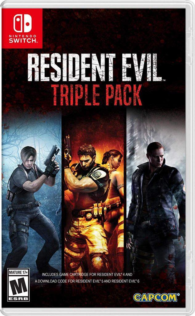 Демо-версии Resident Evil 5 и 6  доступны бесплатно в Switch eShop