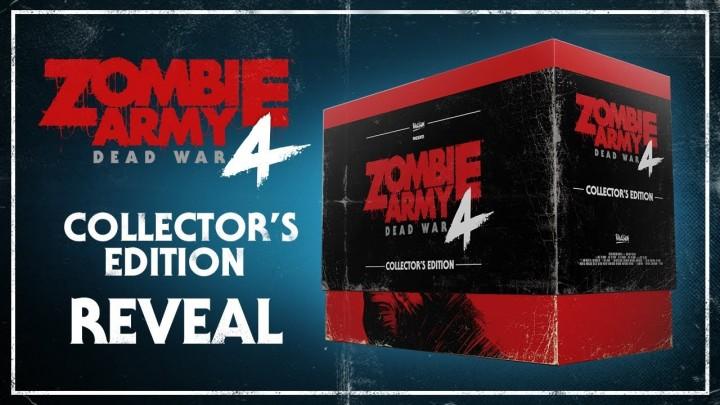 Разработчики Zombie Army 4: Dead War представили состав коллекционного издания игры.