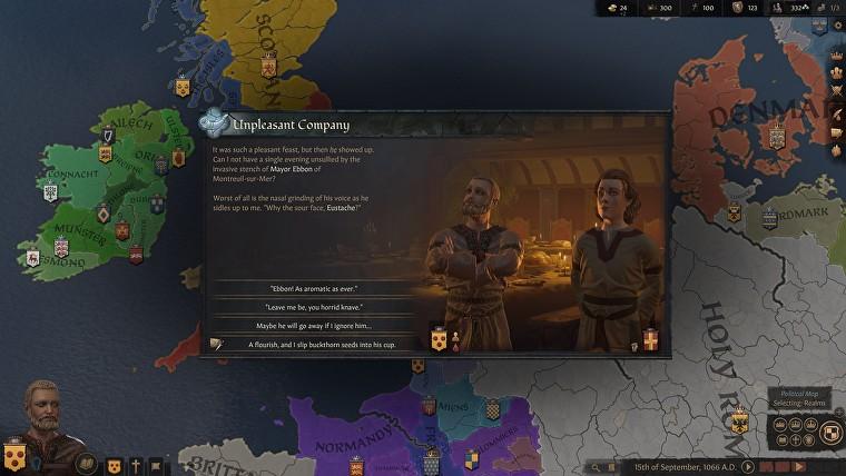 Странствующие персонажи будут важной составляющей Crusader Kings 3