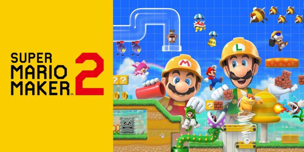 Теперь в Super Mario Maker 2 можно играть онлайн с друзьями.