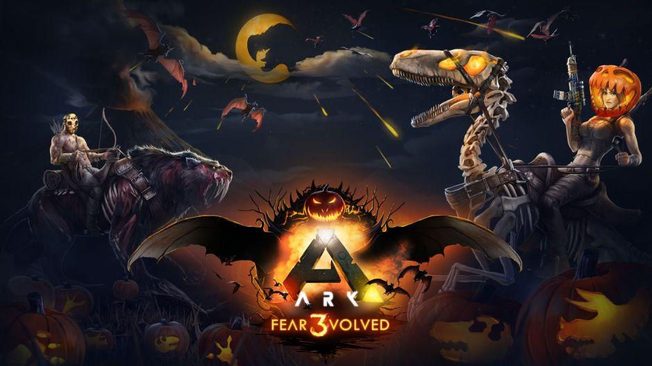Начинается событие Ark: Fear Evolved Halloween