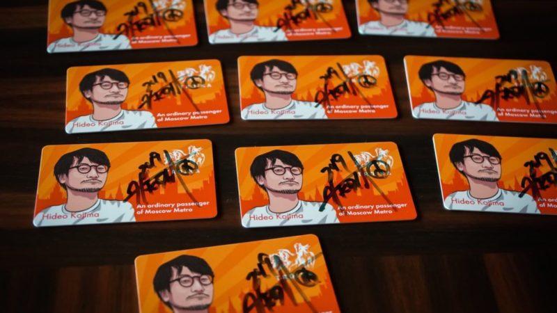 Тройка с автографом Кодзимы популярна и за рубежом