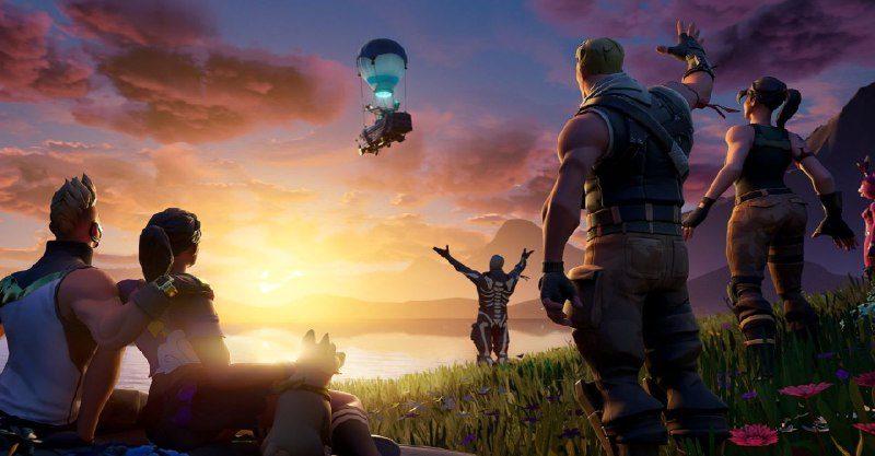 """10-й сезон Fortnite заканчивается 13 октября, и прямо сейчас в игре происходит событие с неоднозначным названием """"Конец""""."""