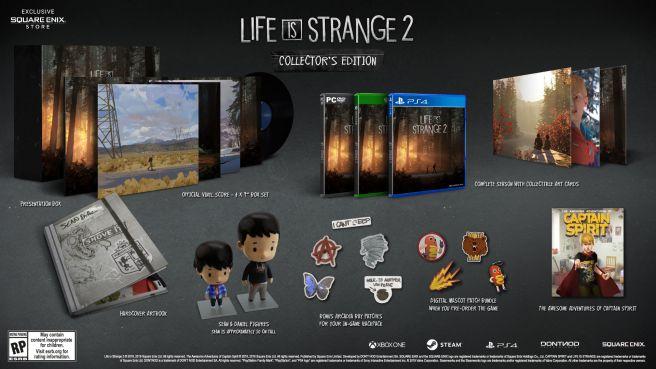 Dontnod официально анонсировала коллекционное издание Life is Strange 2 на Xbox One, PlayStation 4 и PC.