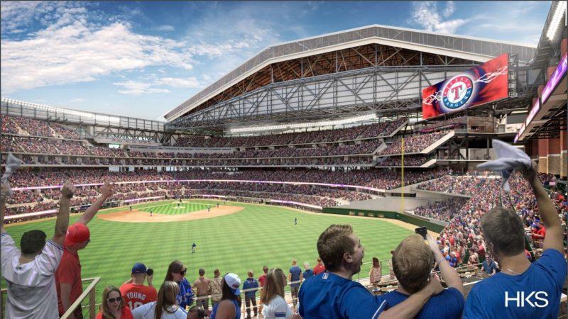 NVIDIA помогла в проектировании стадиона Texas Rangers