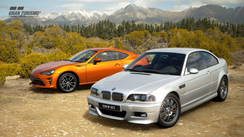 Новые автомобили Grand Turismo Sport