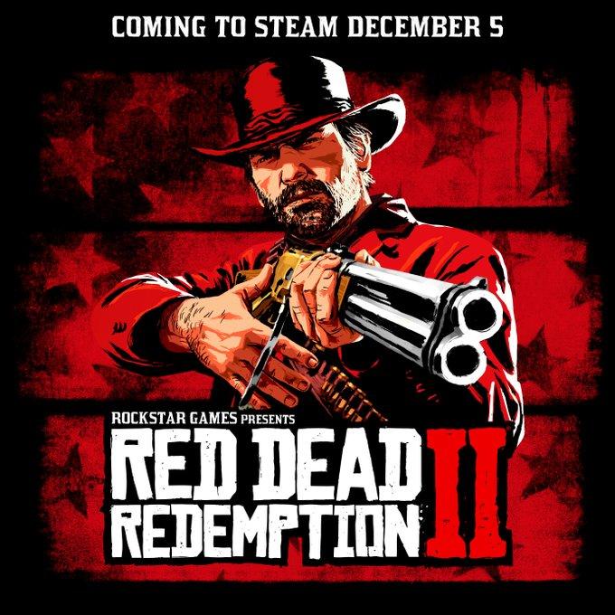 Red Dead Redemption 2 выйдет в Steam