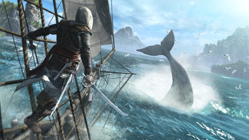 Assassin's Creed IV: Black Flag и Rogue выйдут на Nintendo Switch 6 декабря.