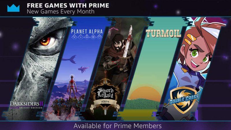 Подписчики Twitch Prime могут получить 4 бесплатные игры.