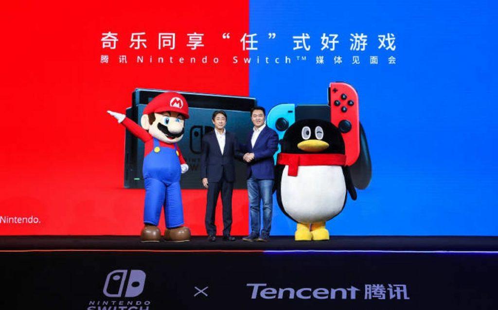 Tencent хочет создавать мобильные игры с персонажами Nintendo.