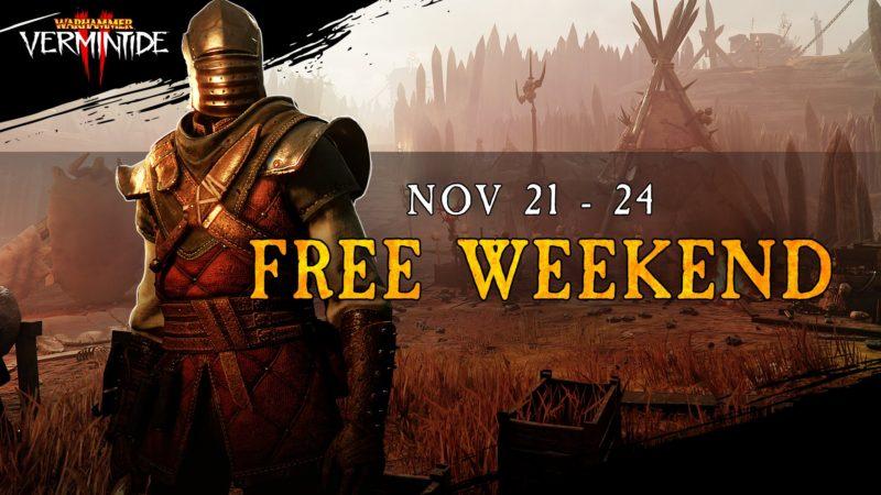 Разработчики Warhammer: Vermintide 2 предлагают поиграть бесплатно.