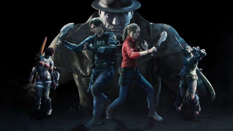Начинается кроссовер Resident Evil и Monster Hunter World.