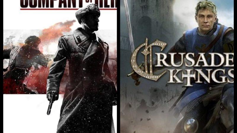 В Steam стартовали 2 раздачи: Company of Heroes 2 и DLC для Crusader Kings II.