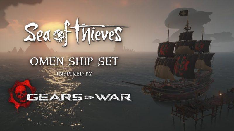 В Sea of Thieves раздают косметику в стиле Gear of War.