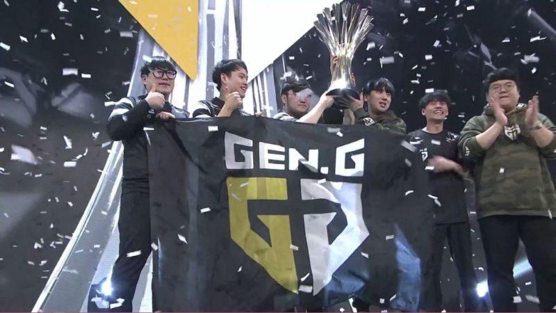 Gen.G выиграли PGC 2019.