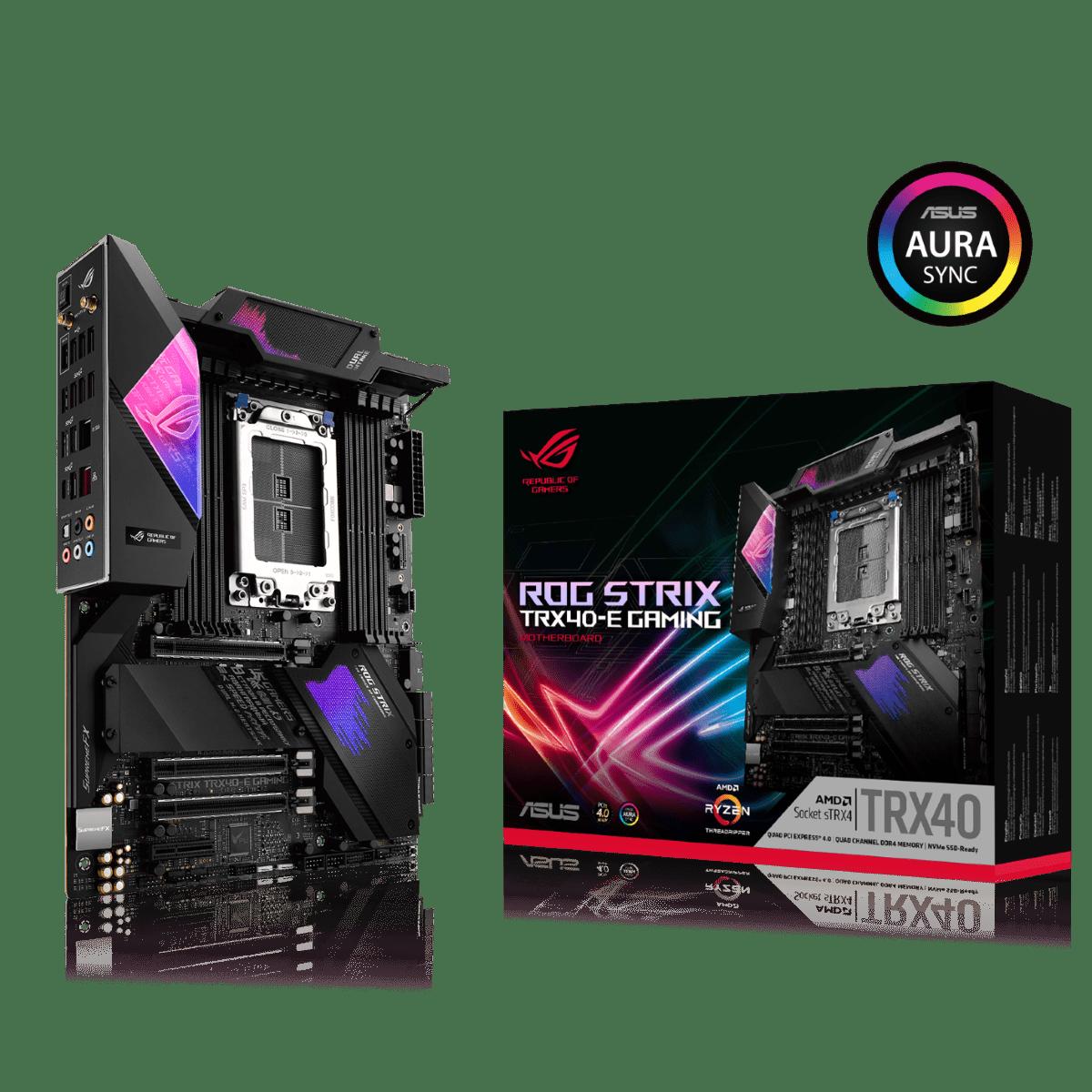 ASUS представляет материнские платы на базе чипсета AMD TRX40.
