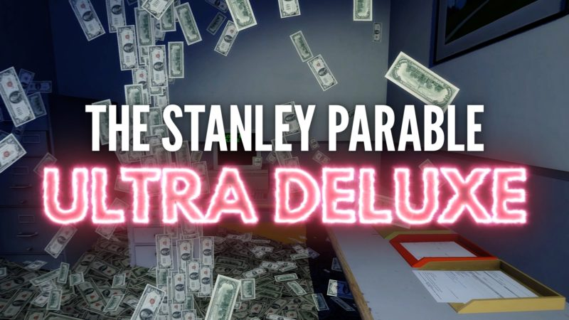 Stanley Parable: Ultra Deluxe логотип трейлера
