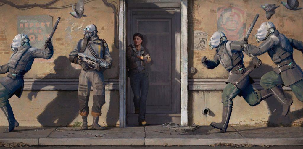 Half-Life: Alyx уже запустили без VR