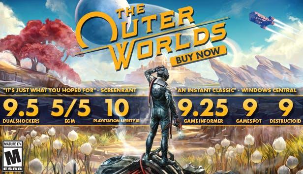 Продажи The Outer Worlds превзошли все ожидания.
