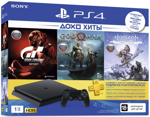 Набор на PlayStation 4