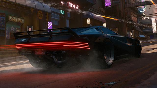 Умельцы воссоздают автомобиль из Cyberpunk 2077.