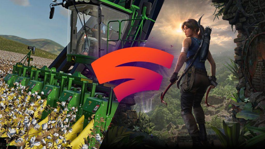 Google подарит Tomb Raider: Definitive Edition и Farming Simulator 19 подписчикам Stadia.