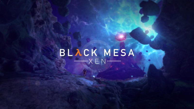 Black Mesa уровень Xen