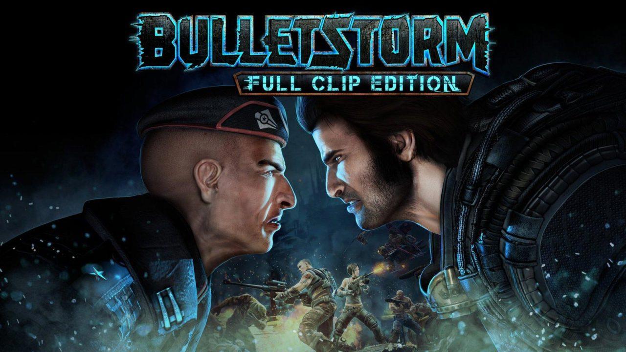 Bulletstorm логотип игры
