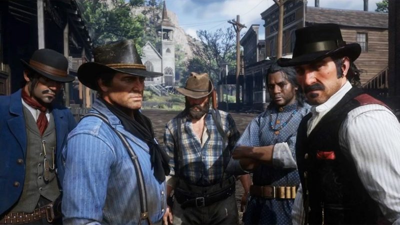 Red Dead Redemption 2 не очень хорошо продаётся в EGS