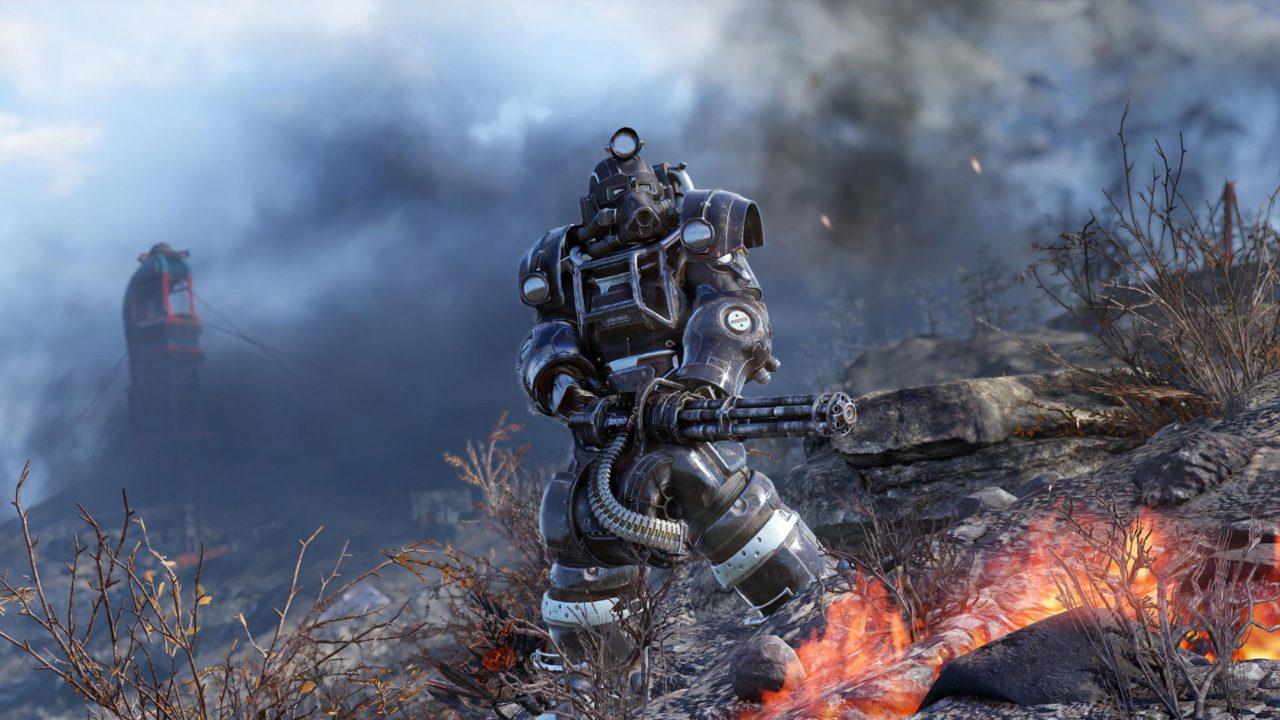 Fallout 76 силовая броня