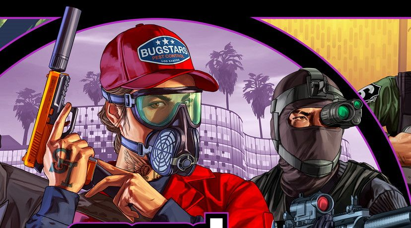 Новое ограбление в Grand Theft Auto Online