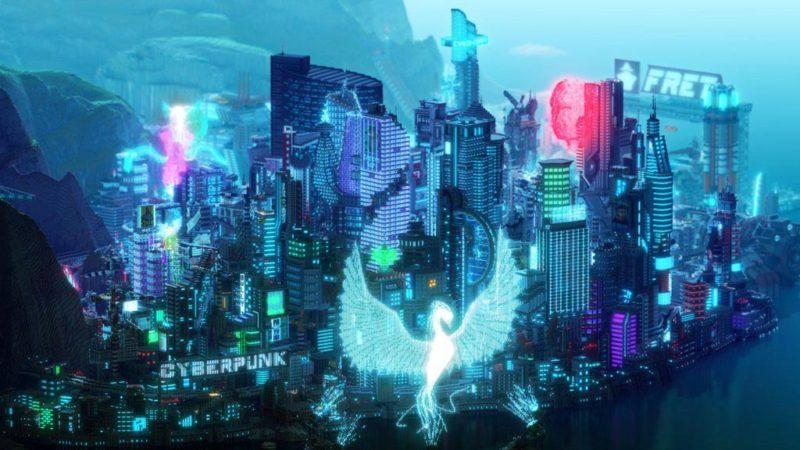 Minecraft Cyberpunk 2077