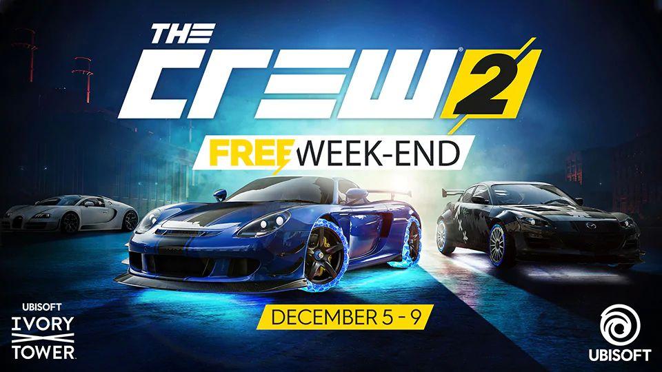 Ubisoft предлагает поиграть в The Crew 2 бесплатно
