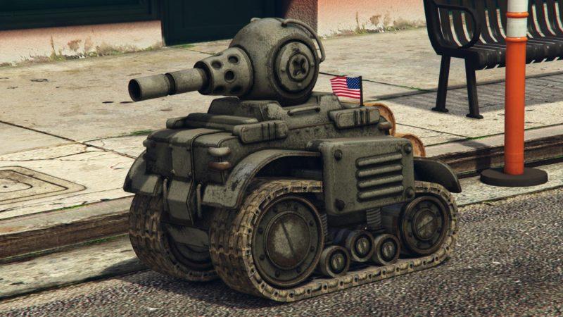 Получите бесплатный радиоуправлемый танк в GTA Online