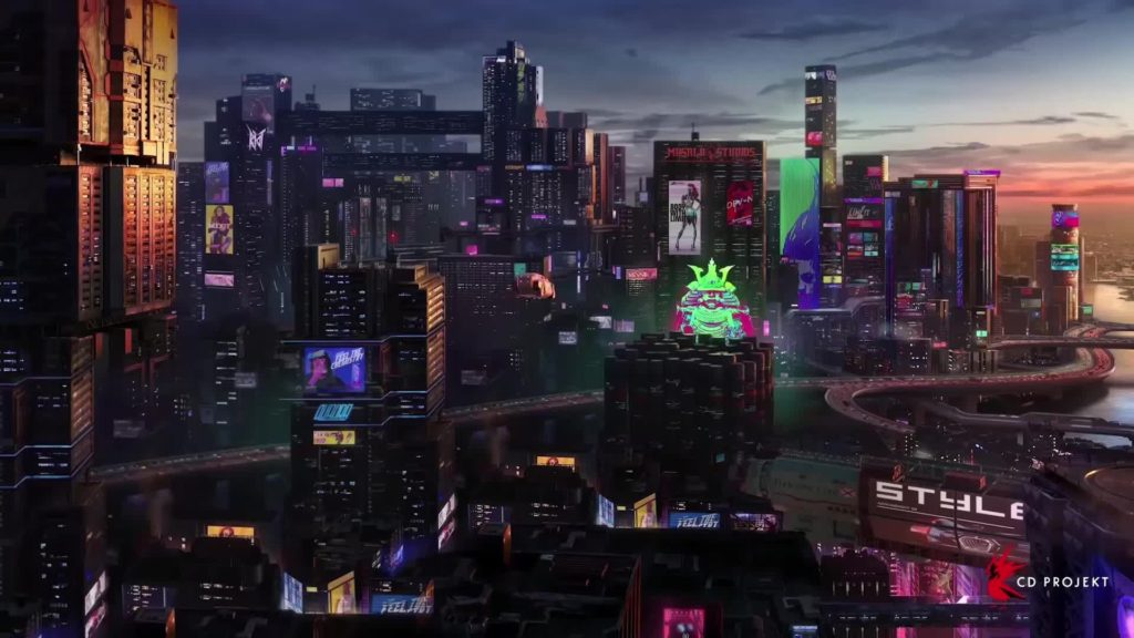 В сеть слили карту Cyberpunk 2077