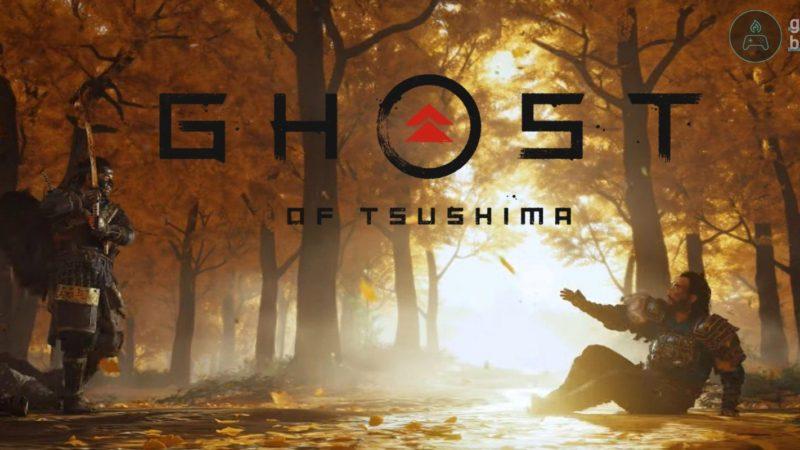 Логотип игры ghost of tsushima