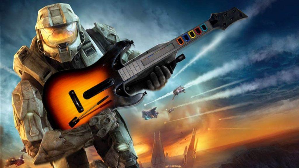 Halo 3 прошли на гитаре