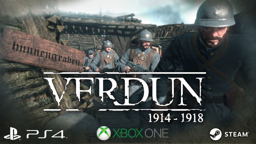 Ремастер-обновление для Verdun доступно на Xbox One