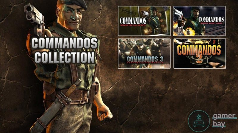 Commandos Collection Logo