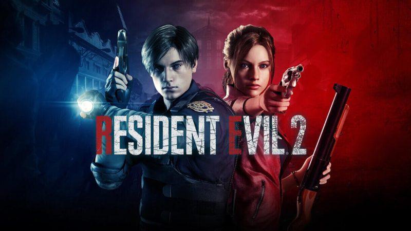 Resident Evil 2 RE Logo