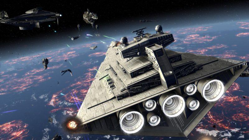Фанаты выпустили огромный мод для Star Wars: Empire at War