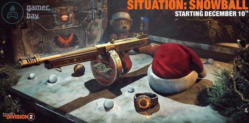 До 31 декабря можно получить уникальный ствол в The Division 2