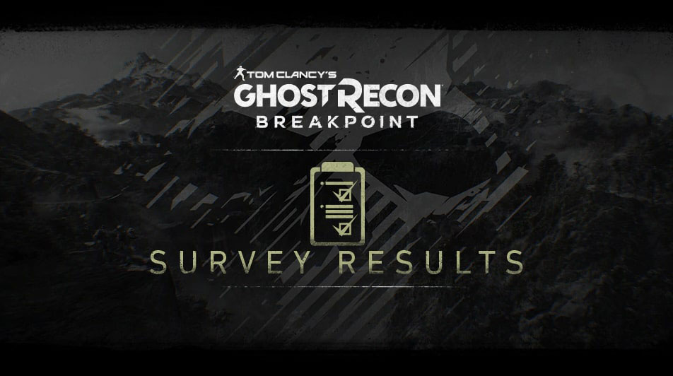 Ubisoft опубликовала результаты недавнего опроса сообщества Ghost Recon: Breakpoint