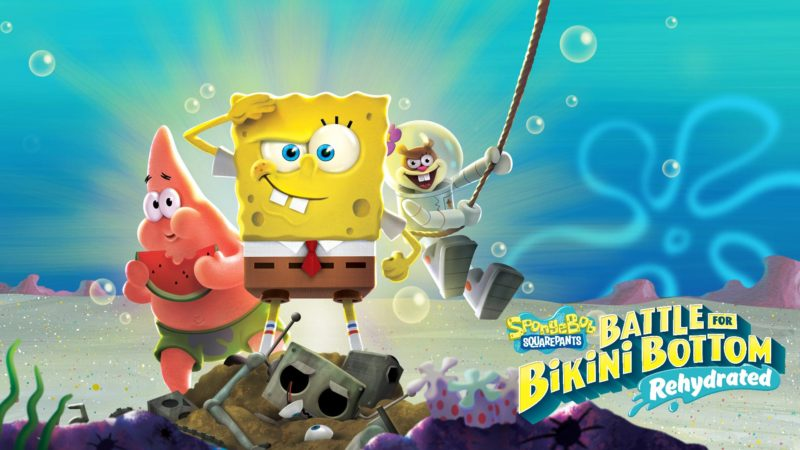 SpongeBob SquarePants: Battle for Bikini Bottom Rehydrated нанесёт удар The Last of Us 2.