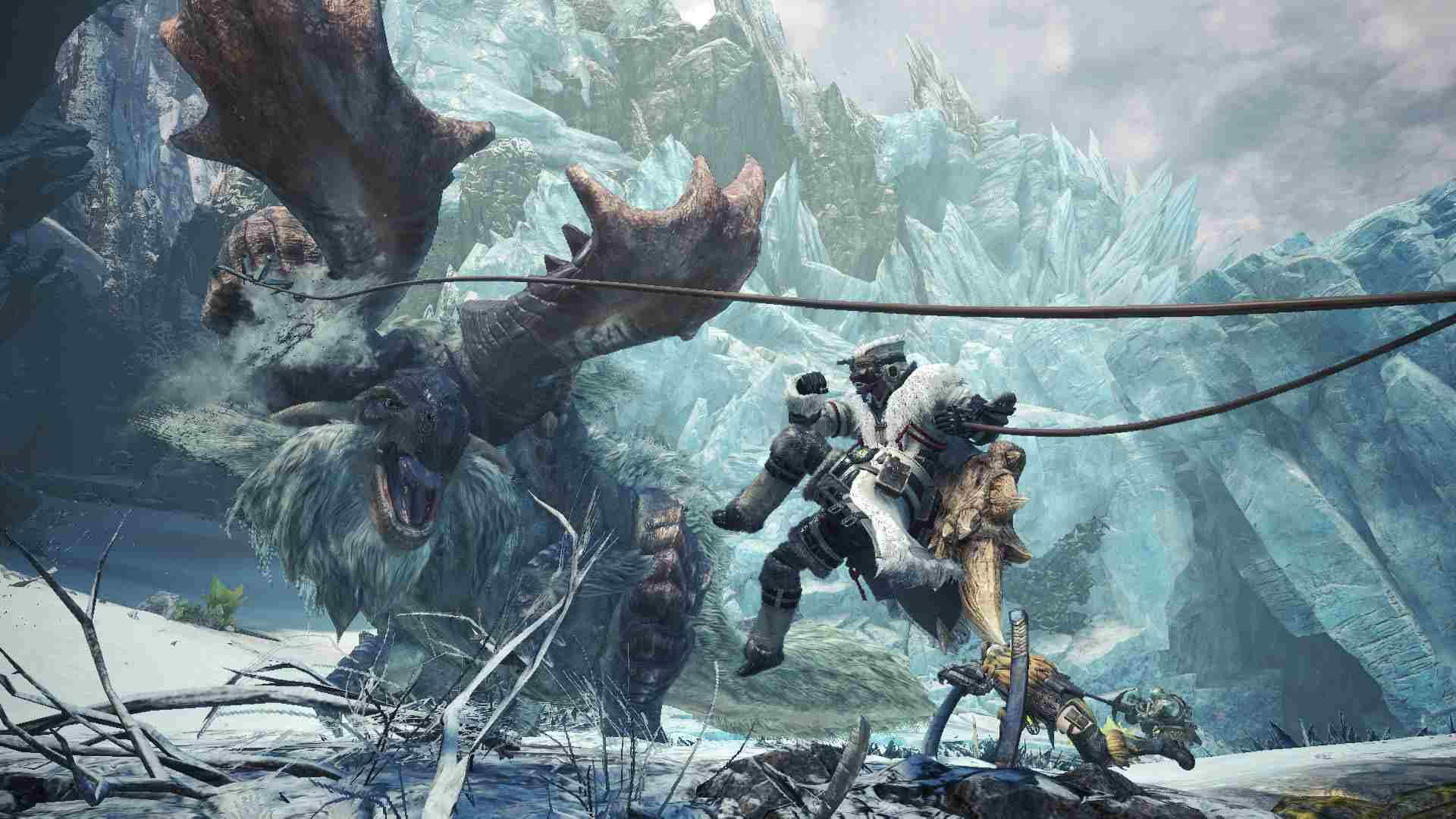 Capcom представила дорожную карту Monster Hunter World: Iceborne